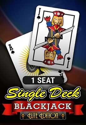 1 Seat Single Deck Blackjack: Elite Edition