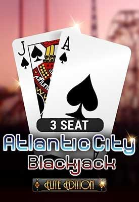 3 Seat Atlantic City Blackjack: Elite Edition