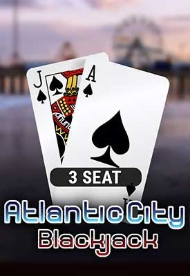 3 Seat Atlantic City Blackjack