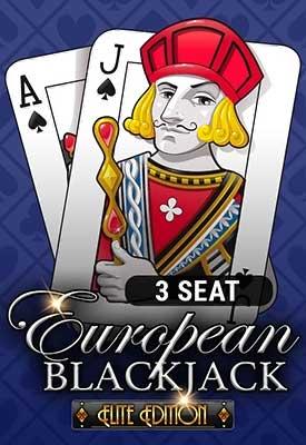 3 Seat European Blackjack: Elite Edition