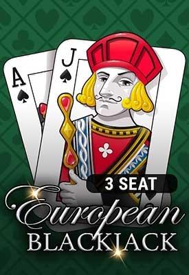 3 Seat European Blackjack