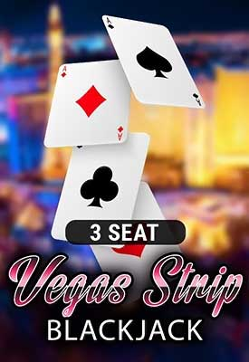 3 Seat Vegas Strip Blackjack